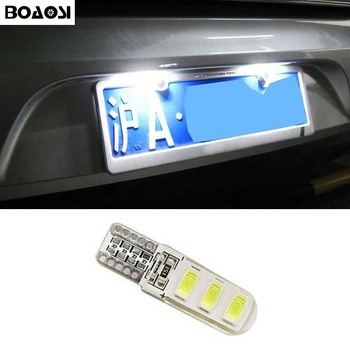 Boaosi 1x Canbus LED T10 5630SMD номер плиты лампа для Honda Civic MK8 FN2