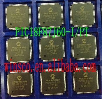 PIC18F87J60-I/PT MIC НОВОЕ IC MCU 8BIT 80 КБ FLASH 64TQFP PIC18F87J60-I 5 ШТ./ЛОТ