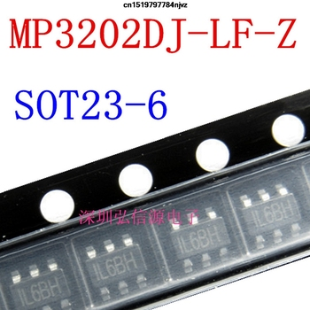 MP3202DJ-LF-Z SMD MP3202DJ SOT23-6 MP3202 сот 10 шт.
