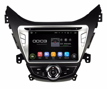 "Quad Core HD 2 din 8 ""Android 5.1 Автомобиль DVD GPS для HYUNDAI Elantra Avante I35 2011-2013 С 3 Г WI-FI Bluetooth Радио USB 16 ГБ ROM"